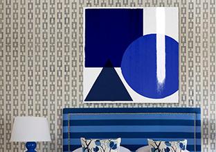 Blue Variations: Oliver Gal Artwork