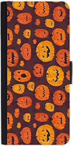 Snoogg Halloween Day Special Graphic Snap On Hard Back Leather + Pc Flip Cove...