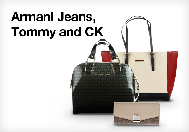Armani Jeans, Tommy and Ck