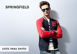 Springfield, Springfield, marca del grupo Cortefiel, basa sus diseños en líneas simples...