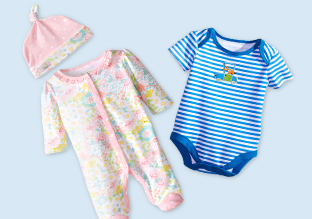 Essentials for Baby: Rompers, Sleepers & More