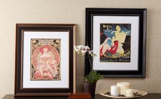 From a Bygone Era: Framed Art!