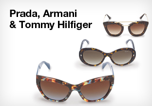 Prada, Armani & Tommy Hilfiger