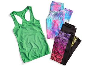 $25 & Up: ActiveFit Workout Clothes