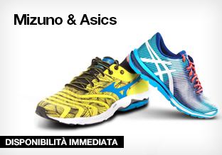 Mizuno & Asics Running