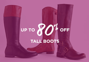 Up to 80% Off: Tall Boots