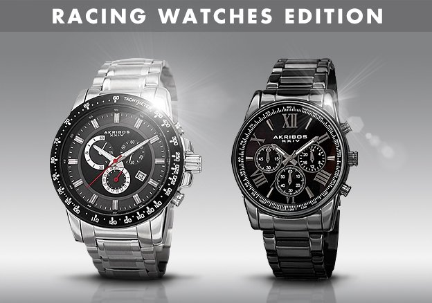 Racing Watches Edition