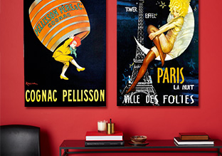 Vintage Style: French & Italian Ad Art!