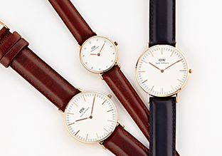 The Classic Leather Strap Watch!