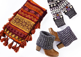 Cozy Gifts: Muk Luks Socks, Tights, & More