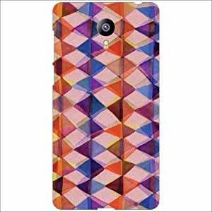 Design Worlds - Meizu M2 Designer Back Cover Case - Multicolor Phone Cover