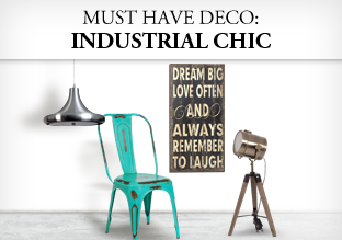 Must have deco industrial chic es compras moda - Deco industriel chic ...