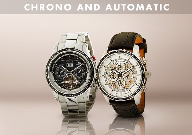 Chronograph & Automatic Watches!