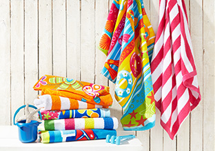 Just $10: Kids' Beach Towels