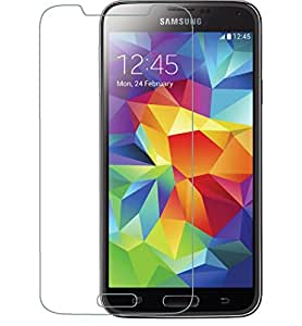 VJOY Antishock Tempered Glass Screen Protector for Samsung Galaxy A5 2016 and (Single Front Transparent Screen Protector) Freebies Offer : The Great Grand Diwali Deal (Get a VJOY 5200 mAh Power-Bank BLUE) (1 Year Replacement Guarantee, Li-ion Battery, Long Battery-Life) worth Rupee 1599/- absolutely free with Screen Protector)