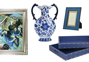 A Blue Home: Accents, Art & More!