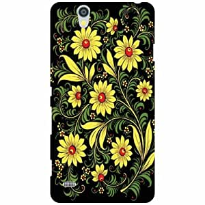 Back Cover For Sony Xperia C4 -(Printland)