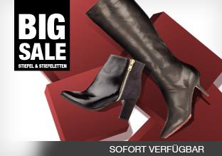 Big Sale: Stiefel & Stiefeletten