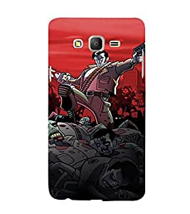 Ebby Premium Printed Back Case Cover With Full protection For Samsung Galaxy On 7 / Samsung On7 (Designer Case)