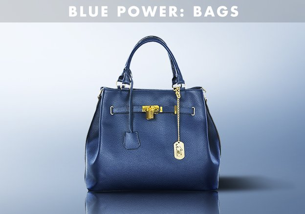 Blue Power: Bags!