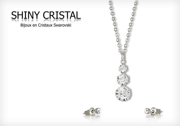 Shiny Crystal - Made with Crystals of Swarovski