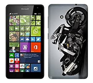 WOW Printed Designer Mobile Case Back Cover For Nokia Microsoft Lumia 535