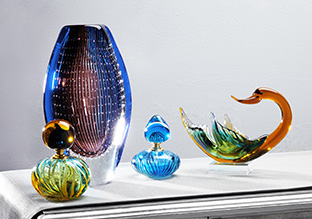 Bold Accents: Art Glass!