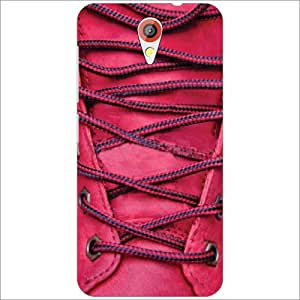 HTC Desire 620 Back Cover - Red Shoe Laces Designer Cases