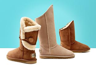 Warm & Fuzzy : Stivali & Borse!