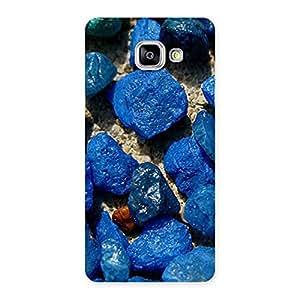 Cute Premier Blue Rocks Multicolor Back Case Cover for Galaxy A5 2016