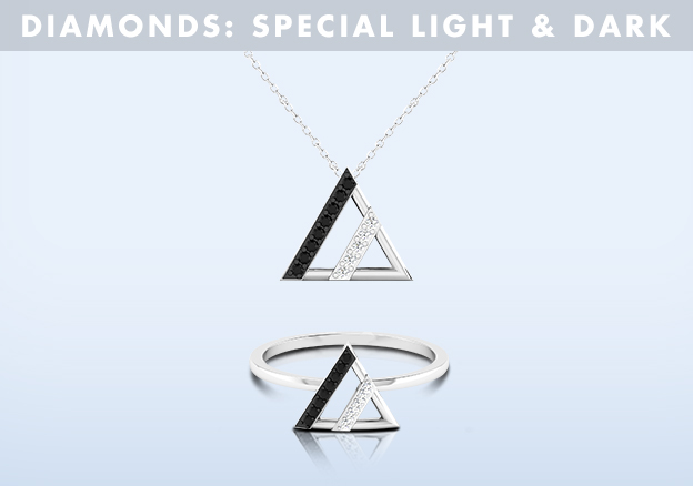 Diamonds: Special Light & Dark!
