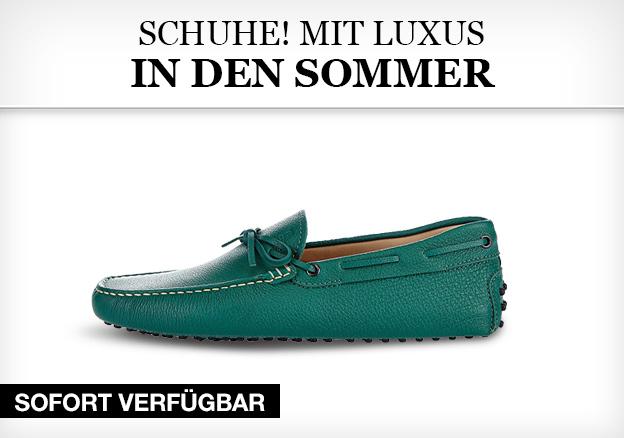 Schuhe! Mit Luxus in den Sommer