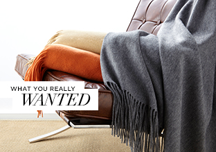 What You Really Wanted: Luxe Throws & More!