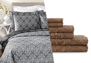 Freshen Up Your Bed & Bath!