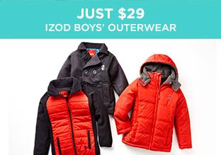 Just $29: IZOD Boys' Outerwear
