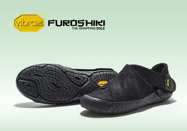 Vibram Fivefingers Furoshiki!