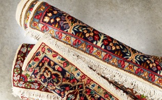 Roubini One of a Kind Antique Kirman Rugs!