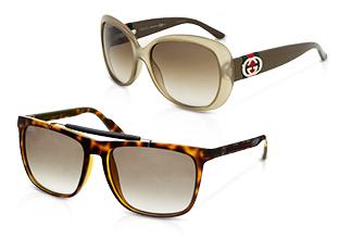 Designer Sonnenbrillen & Brillen feat. Gucci!