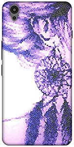 The Racoon Lean printed designer hard back mobile phone case cover for Oneplus X. (Dream Catc)