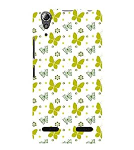 Butterfly pattern Back Case Cover for Lenovo A6000