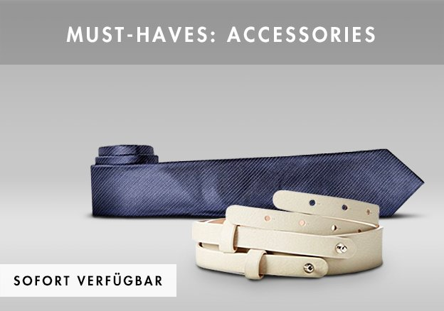 Must-haves: Accessoires bis -75%!