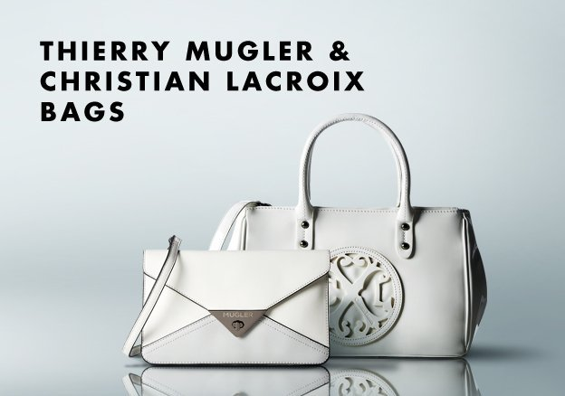 Thierry Mugler & Christian Lacroix Bags!
