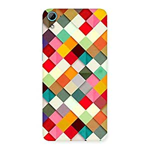 Enticing Color Ribbons Back Case Cover for HTC Desire 826