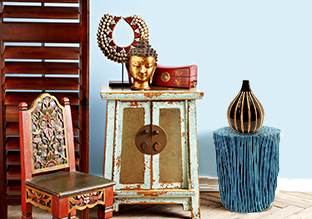 Multi Cultural: Furniture, Lighting & Décor!