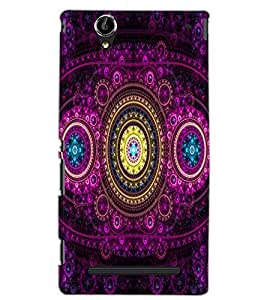 SONY XPERIA T2 ULTRA PATTERN Back Cover by PRINTSWAG