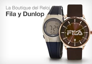 La boutique del reloj: Dunlop y Fila