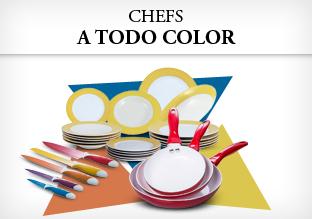 Chefs a todo color