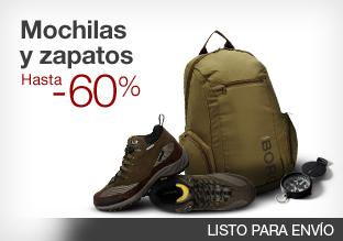 Mochilas y zapatos: hasta -60%