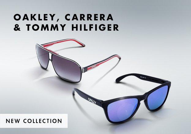 Oakley, Carrera & Tommy Hilfiger!