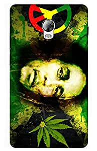 bob marley Designer Printed Back Case Cover for Lenovo Vibe P1
